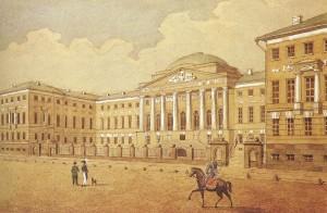 800px-Moscow_University,_1820s