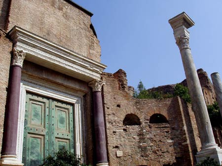 Храм Юпитера Статора. Рим. Эпоха Республики