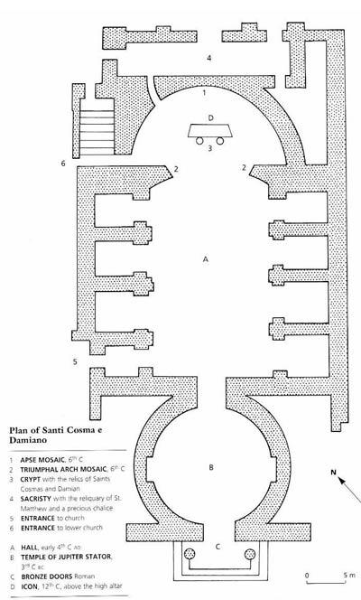 Храм Юпитера Статора. Рим. Эпоха Республики. Архитектор Гармоген из Саломина