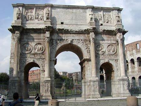 Реконструкция  Forum Romanum