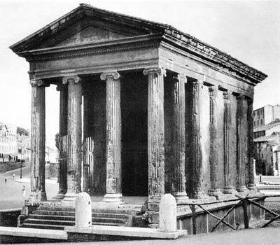 Храм Mater Matuta (Fortuna Virilis) в Риме