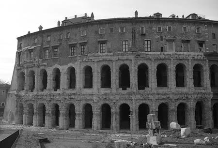 Театр Марцелла. Рим. 11 г. до н.э.