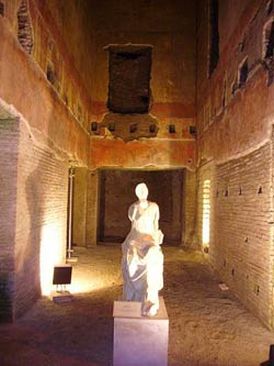 Domus_Aurea. Золотой Дом императора Нерона. Сохранившаяся часть, доступная для посещений