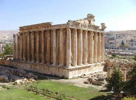 Большой Храм Храмового комплекса в г.Баальбек (Гелиополь), Сирия