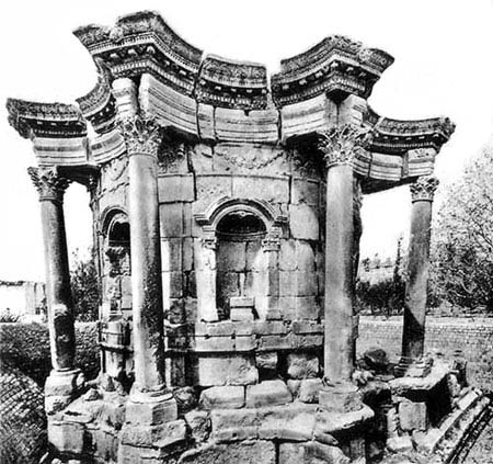 Круглый храм Венеры, г. Баальбек (Гелиополь), Сирия