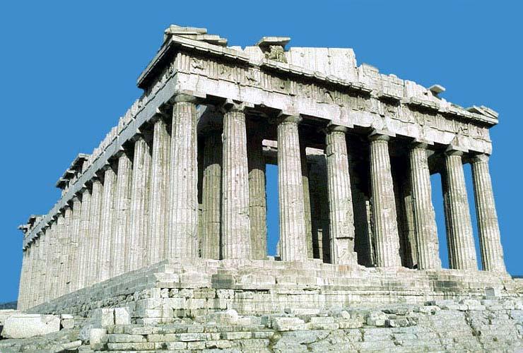 Достижение древнегреческой классики в архитектуре