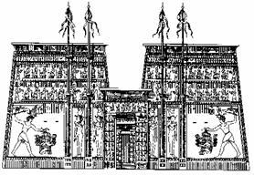Храм Гора в Эдфу I - II вв. до н.э.