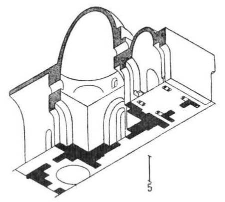 Архитектурные памятники Древней Персии. Дворец в Сарвистане