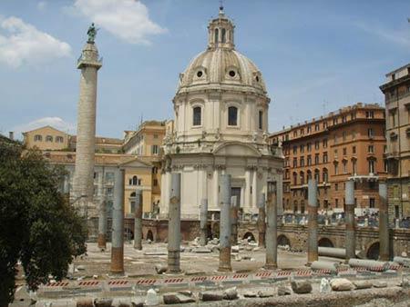 Форум Траяна, архитектор Апполодор Дамасский, Рим