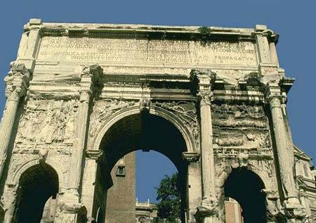 Арка Септимия Севера,203г. н.э., Рим
