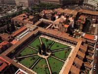 Термы Диоклетиана. Вид сверху (тур в Италию)