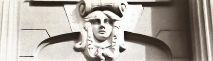 Замковый камень. ул. Елизаровой, д.1, 1910 г. Архитектор К.Л. Розенкампф