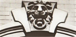Замковый камень. Еропкинский пер.. д.4, 1911 г. Архитектор К.Ф. Буров