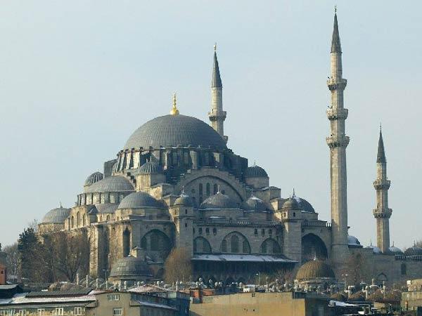 Мечеть Шах-Заде в Станбуле (Sehzade Mosque, Şehzade Camii)