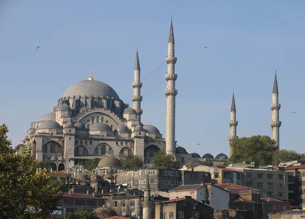Мечеть Сулеймание (Сулеймание-джами, Süleymaniye Camisi, Suleiman Mosque). Стамбул
