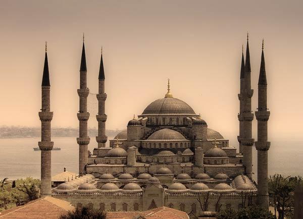 Мечеть Ахмедие (Голубая мечеть, Мечеть Султана Ахмета,  Sultanahmet Camii)