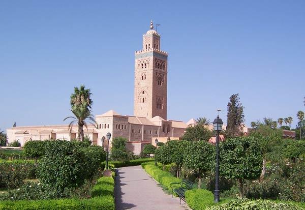 Мечеть Аль-Кутубийа в Марракеше (XII в.)
