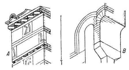 Формы в раннехристианской архитектуре. Оконные проемы. Орнаментация византийских фасадов
