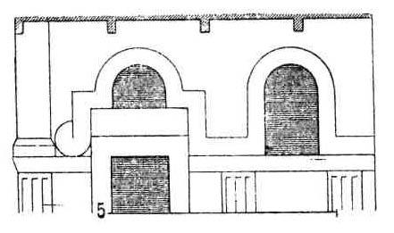 Формы в раннехристианской архитектуре. Оконные проемы. Образец сирийской декорации фасада