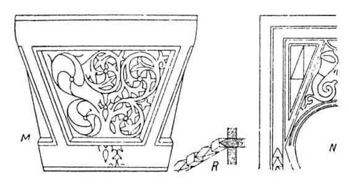 Формы в раннехристианской архитектуре. Византийская скульптура
