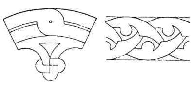 Формы в раннехристианской архитектуре. Армянский орнамент