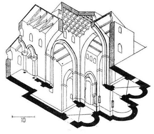 Церковная архитектура IV - X веков. Церкви Сицилии. Церковь в Монреале