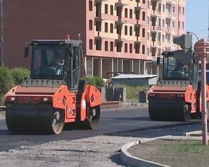 Ремонт дороги на Торосова в Абакане