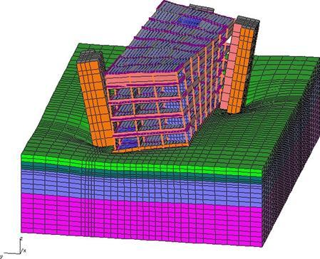 Конструкции зданий с увеличивающимся объемом по высоте