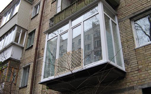 Реставрация старых балконов с установкой отливы. - ухаживаем.