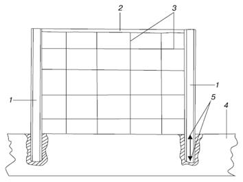Ремонт бетонной плиты стены
