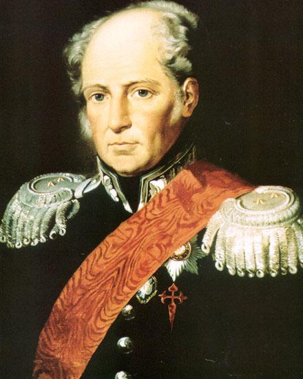 "Неизвестный художник: ""Августин Хосе Педро дель Кармен Доминго де Канделария де Бетанкур и Молина"", (1810 г.)"