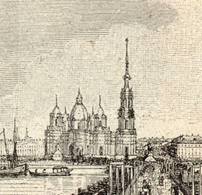 Вторая версия Исаакиевского собора