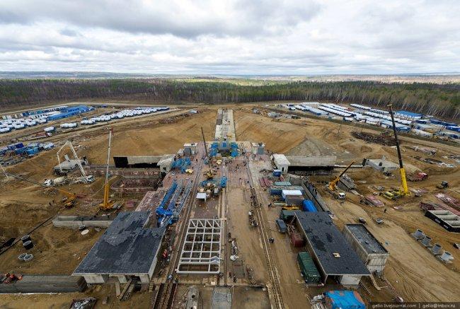 Строительство космодрома «Восточный»