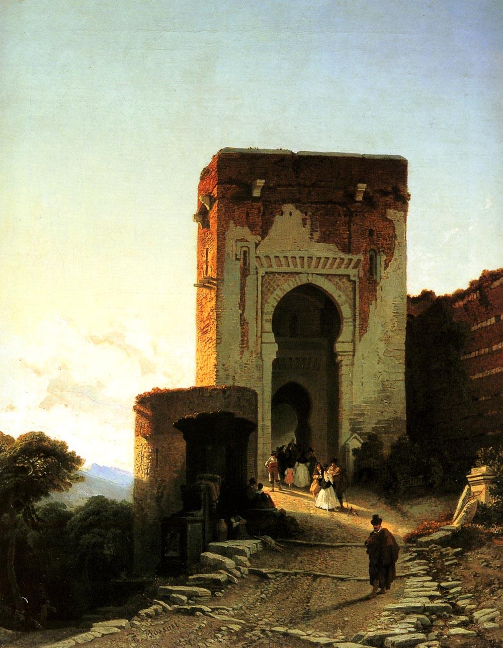 """Франсуа Антуан Боссюэ (1798–1889), Бельгия """"Ворота Справедливости"""""""