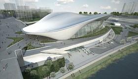 Заха Хадид. Центр водных видов спорта в Лондоне