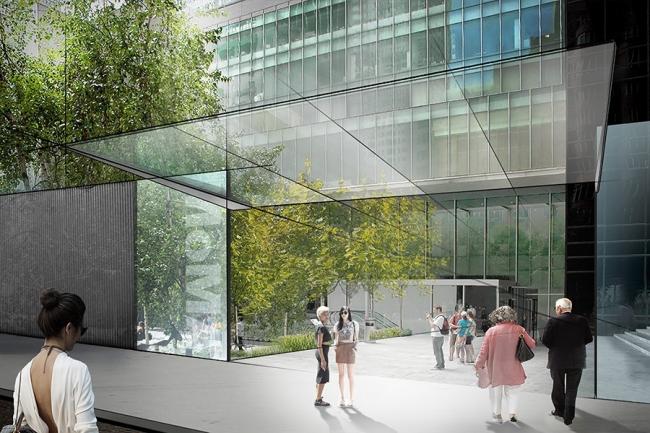 Реконструкция Музея современного искусства MoMA. Главный вход © Diller Scofidio + Renfro