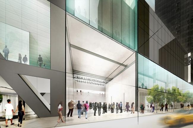 Реконструкция Музея современного искусства MoMA. Art Bay © Diller Scofidio + Renfro